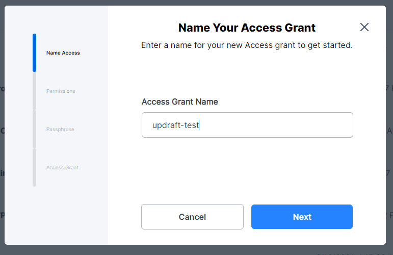 Name the Access Grant