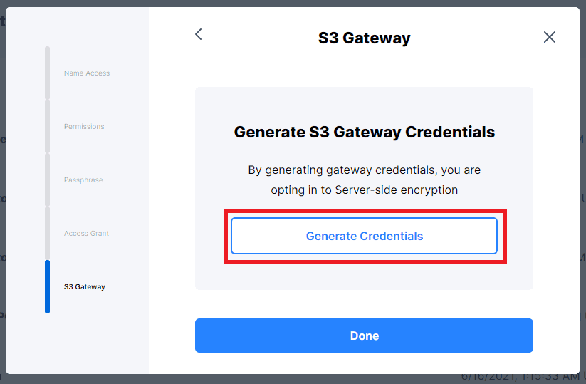 Opt-in to Server-side Encryption
